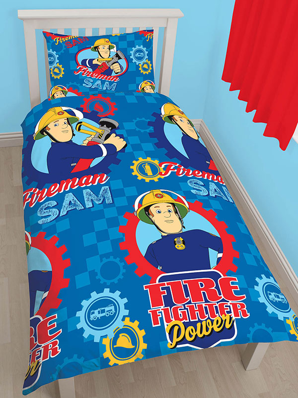 Fireman Sam £50 Ultimate Bedroom Makeover Kit