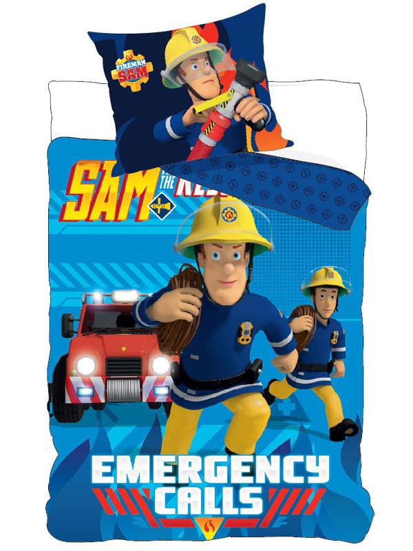 Fireman Sam Emergency Calls Single Duvet Cover Set