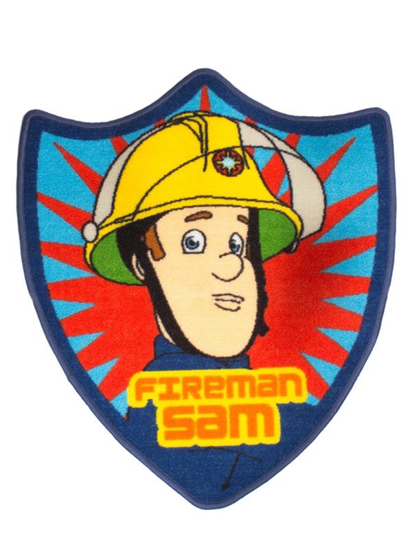 Fireman Sam Brave Shaped Rug