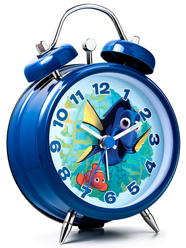 Finding Dory Nemo Mini Twinbell Alarm Clock