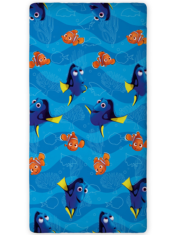 Finding Dory Nemo Single Fitted Sheet