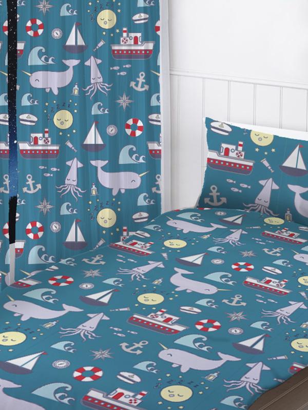 nautical sea curtains