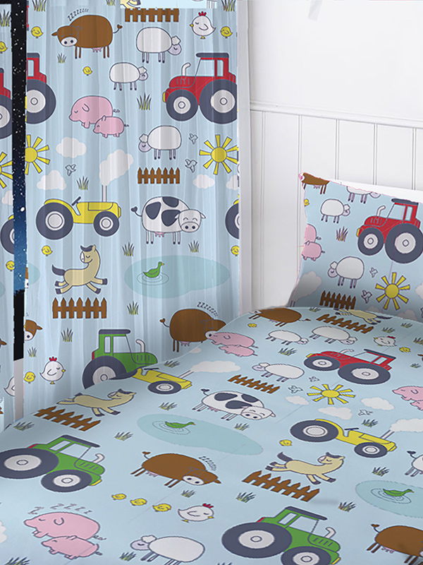 Price Right Home Farm Animals Curtains