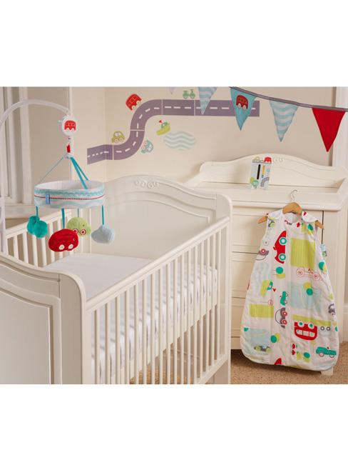 Gro All Aboard Safer Sleep Nursery Set
