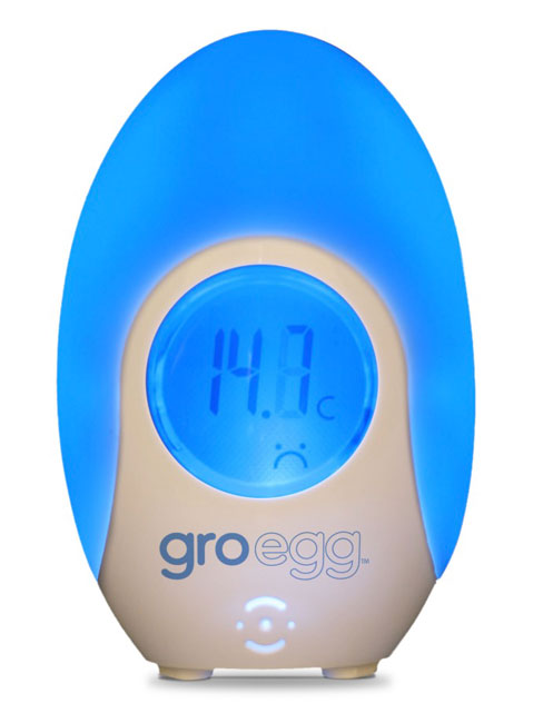 Gro Egg by the Gro Company Colour Changing Digital Room Thermometer