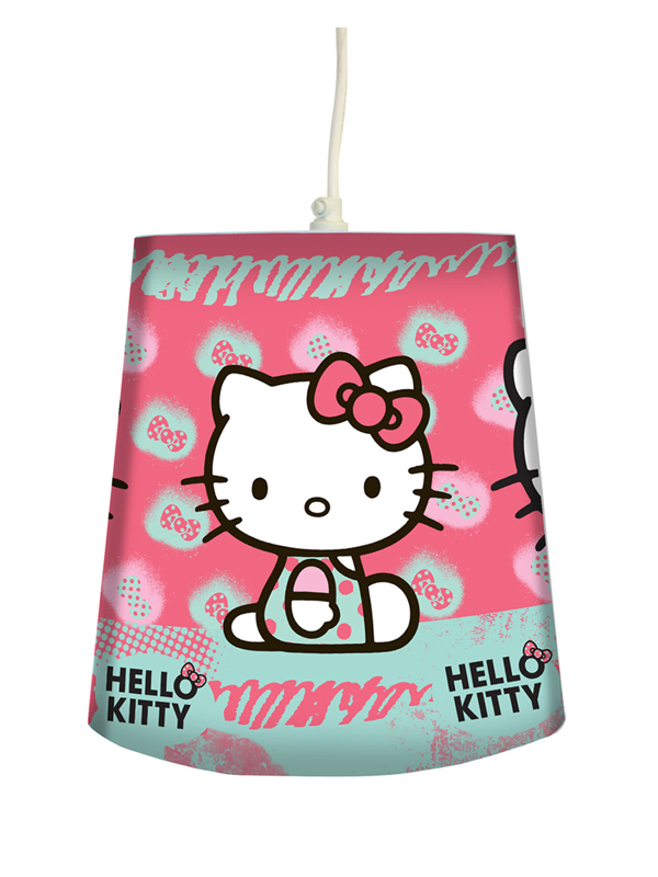 Hello Kitty Ink Tapered Ceiling Light Shade