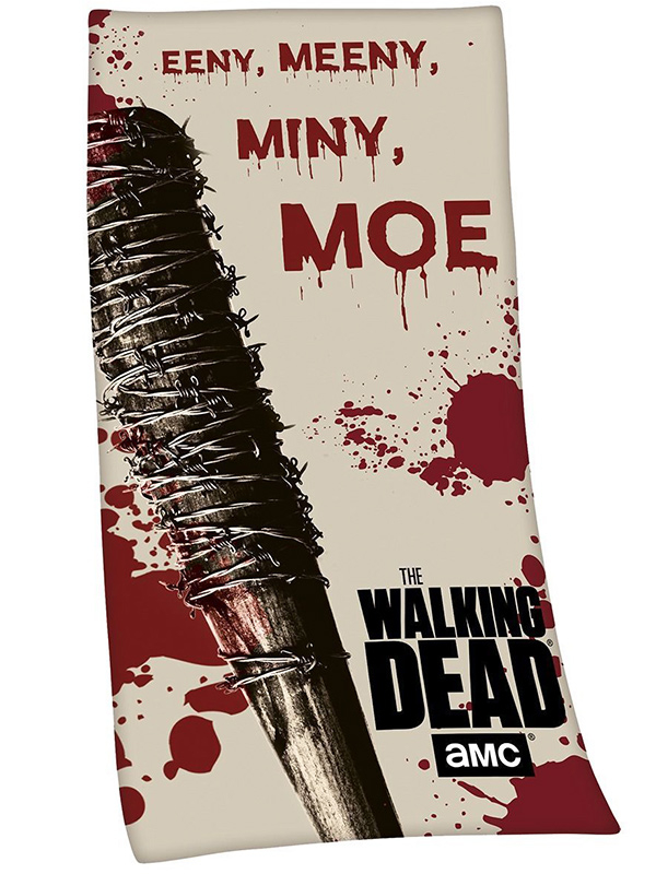 The Walking Dead Lucille Eeny Meeny Towel