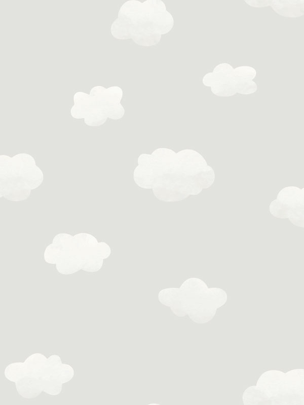 Over the Rainbow Cloudy Sky Wallpaper Grey Holden 90990