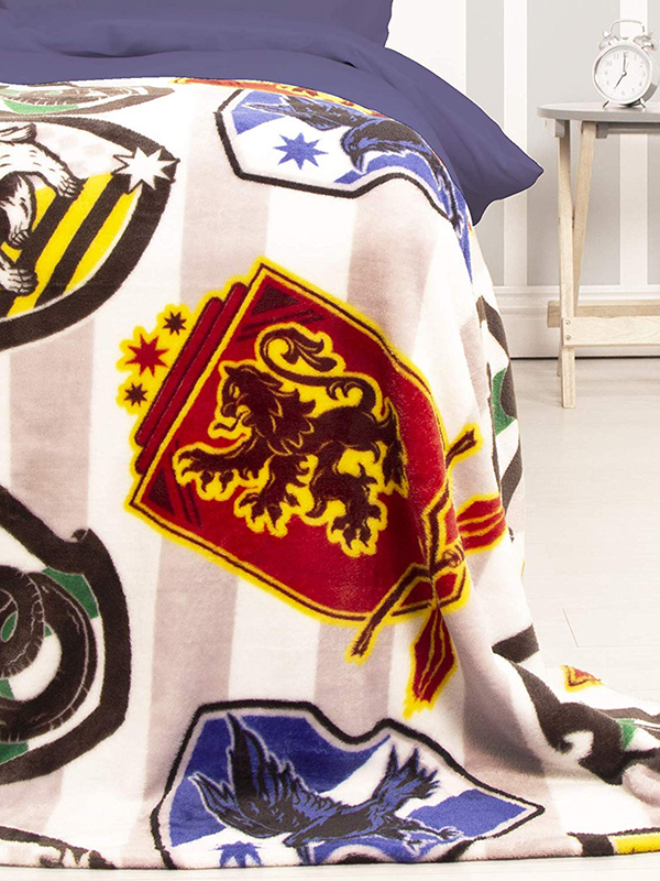 Harry Potter House Fleece Blanket