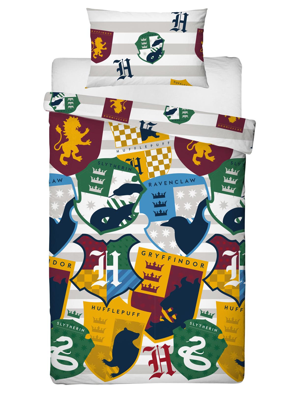 Harry Potter Stickers Single Duvet Cover Set
