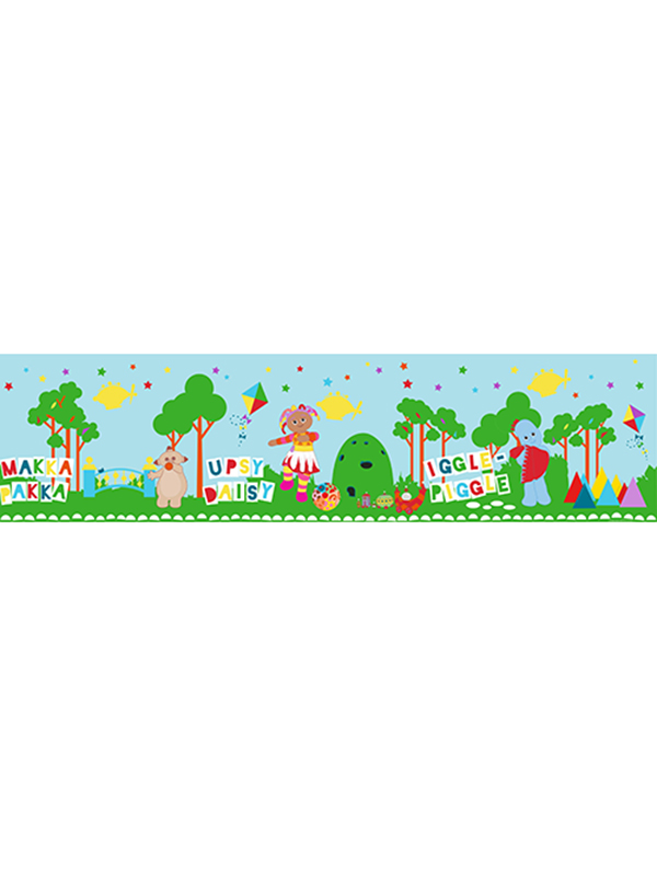 In The Night Garden Self Adhesive Wallpaper Border 5m