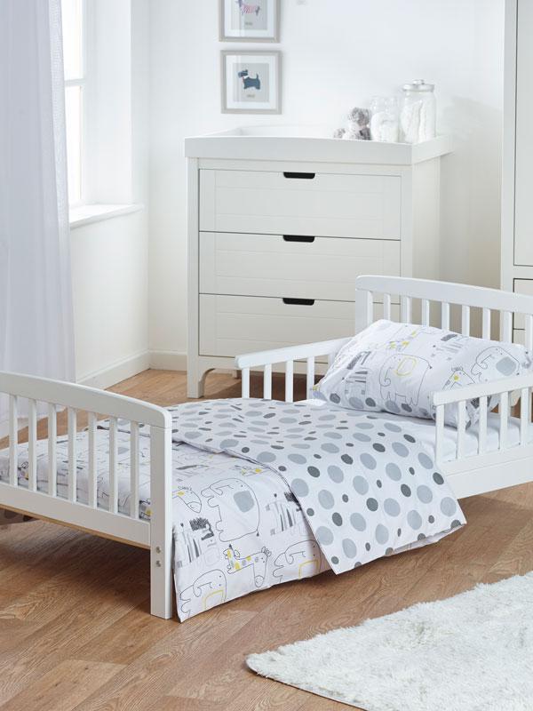 Safari Friends 5 in 1 Junior Bedding Bundle (Duvet, Pillow, Covers,