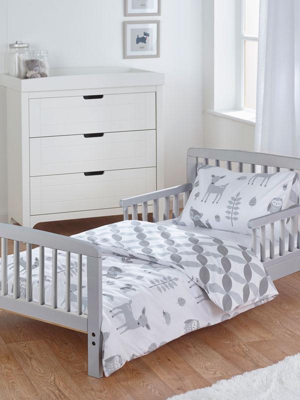 Woodland Tales 5 in 1 Junior Bedding Bundle (Duvet, Pillow, Covers,