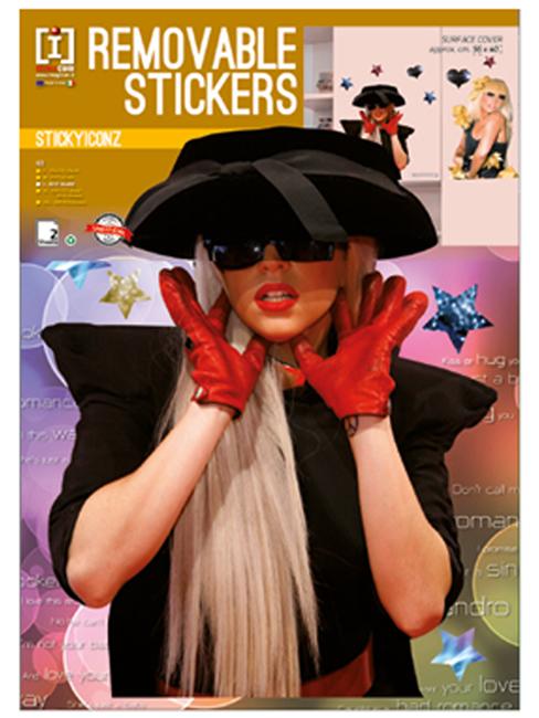Lady Gaga Wall Stickers