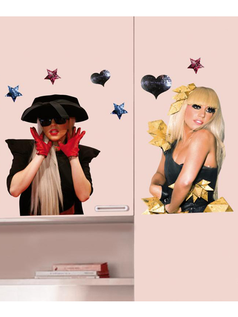 Price Right Home Lady Gaga Wall Stickers