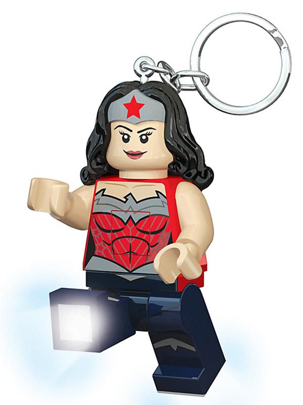 Lego DC Superheroes Wonder Woman Keylight Keyring