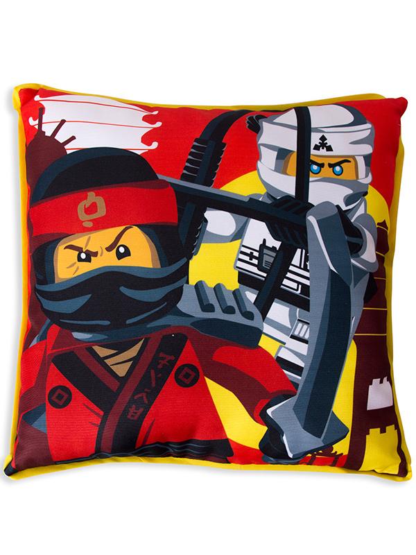 lego ninjago movie canvas cushion