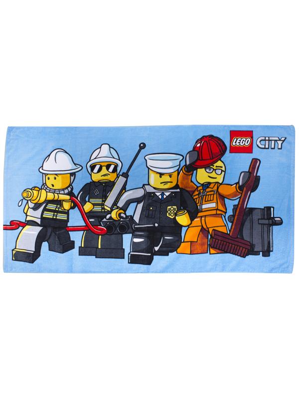 Lego City Heroes Beach Towel