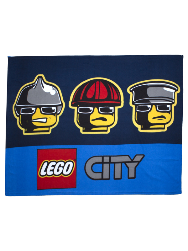 Lego City Heroes Fleece Blanket