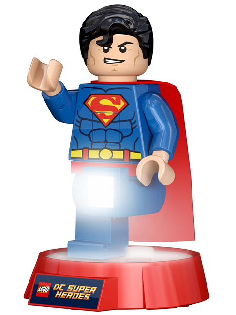 Lego DC Superheroes Superman LED Torch and Night Light