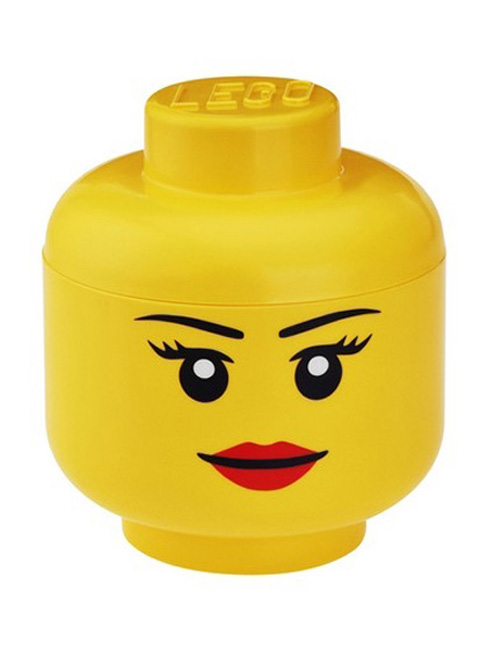 Price Right Home Lego Small Girl Storage Head
