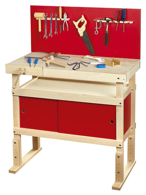 Young Carpenters Toy Work Bench