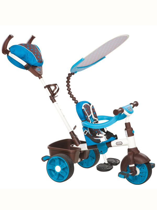 Little Tikes 4 in 1 Trike Blue Sports Edition
