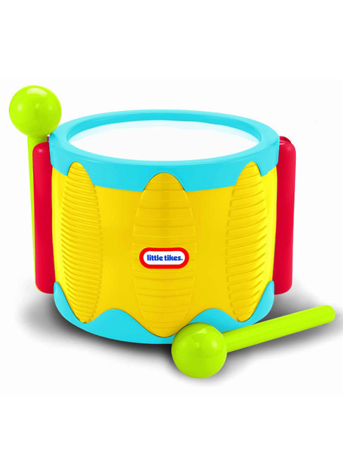 Little Tikes Tap-a-Tune Drum - Yellow