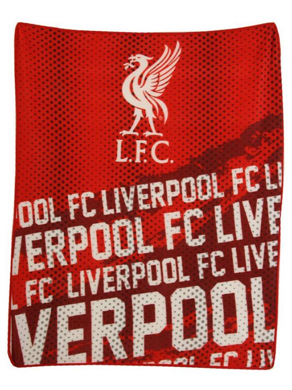 Liverpool FC Impact Fleece Blanket