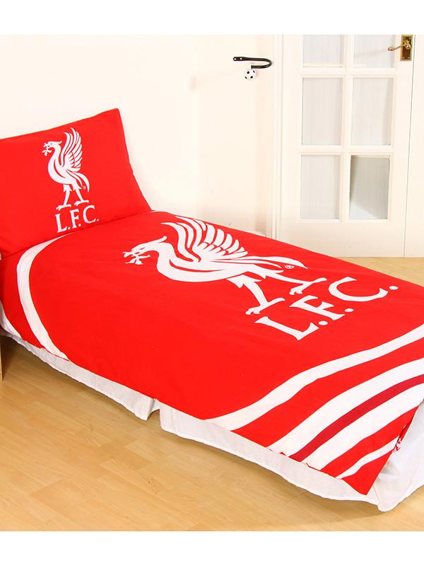 Liverpool FC Pulse Single Duvet Cover and Pillowcase Set