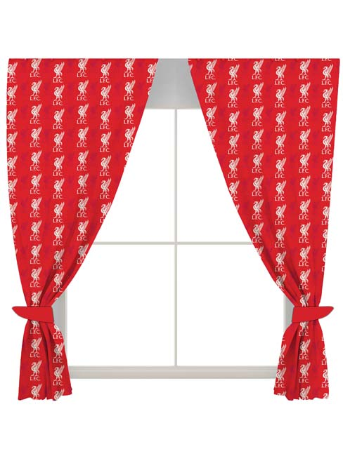 Home & Garden|Curtains & Accessories|Arsenal London Liverpool FC Crest Curtains
