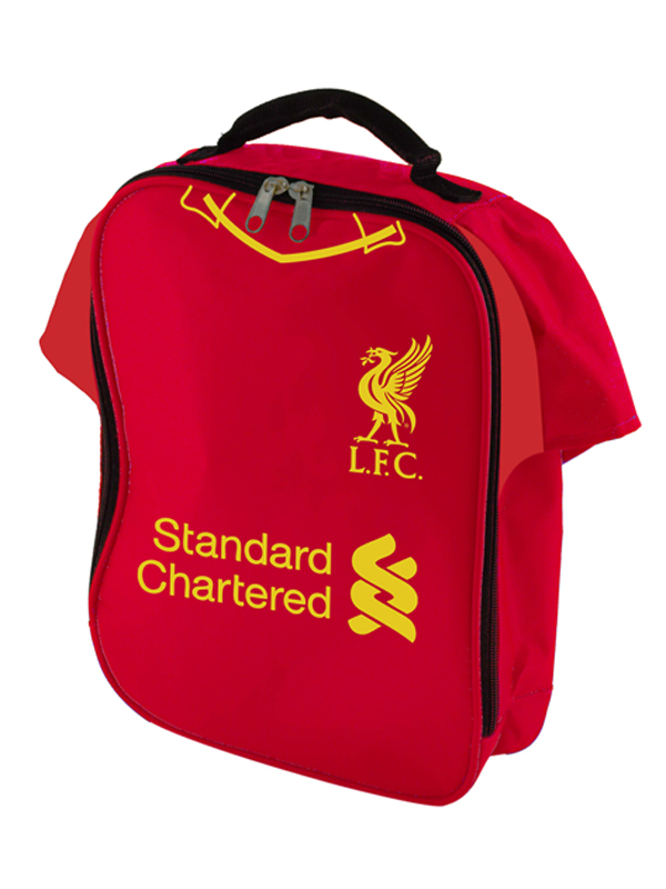 liverpool fc shirt insulated lunch bag
