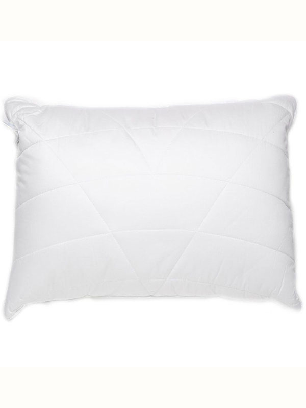 Luxury Quilted Box Bamboo Anti Bacterial Hypo Allergenic Pillow Firm