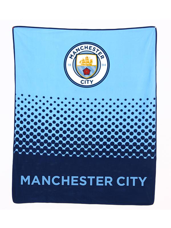Manchester City FC Fade Fleece Blanket