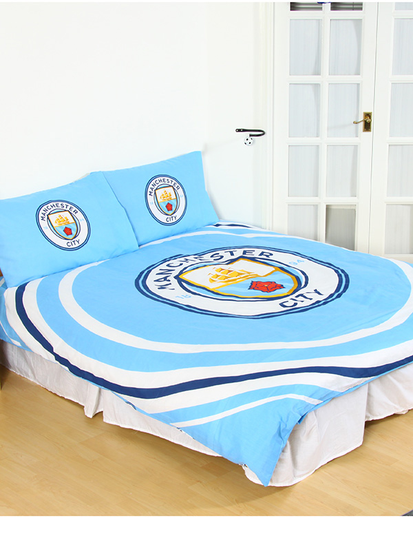 Manchester City FC Pulse Double Duvet Cover Set