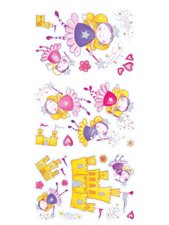Magical Fairy Quick Sticks Wall Stickers 44 pieces