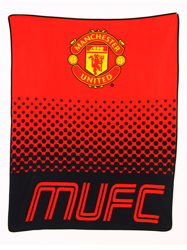 Manchester United FC Fade Fleece Blanket