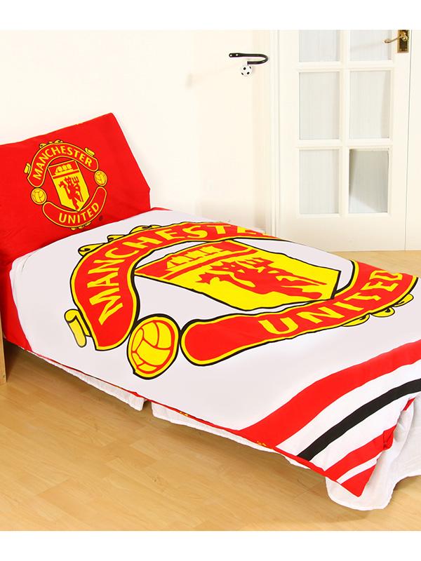 Manchester United FC Pulse Single Duvet Cover Set