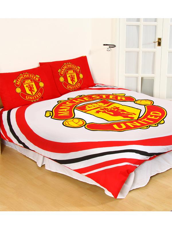 Manchester United FC Pulse Double Duvet Cover Set