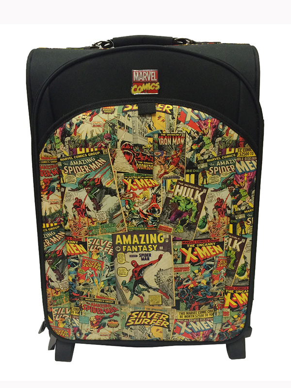 Marvel Comics Heroes Multicoloured Trolley Case