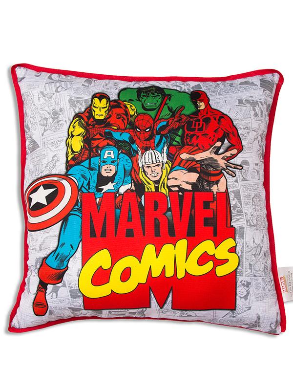 marvel comics retro canvas cushion