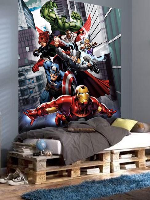 Marvel Avengers Assemble Photo Wall Mural 180 x 202 cm