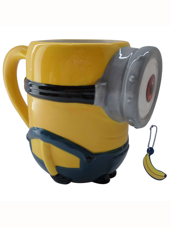 Minions Stuart 3D Mug with Banana Scented Charm