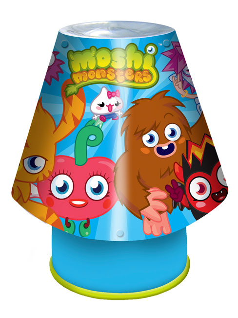 Moshi Monsters Bedside Kool Lamp Light
