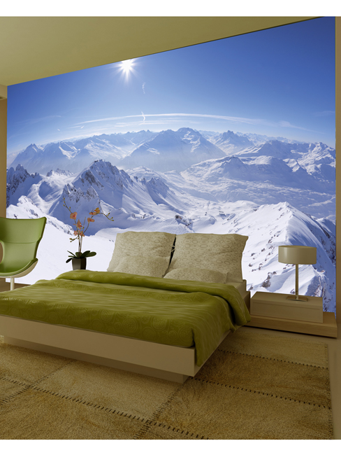 Mountain Wall Mural 232m x 315m