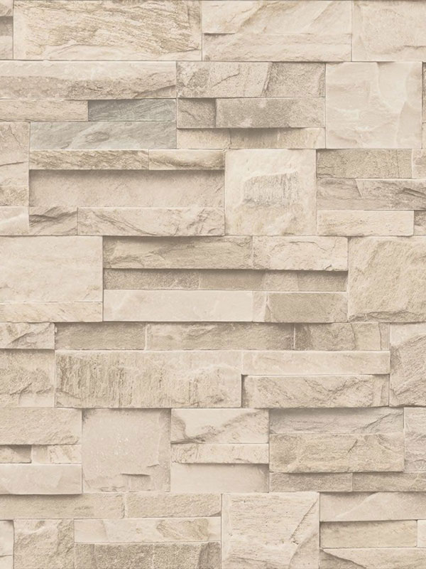 slate stone wallpaper beige muriva j27407