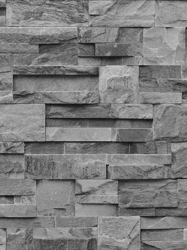 slate stone wallpaper charcoal muriva j27409