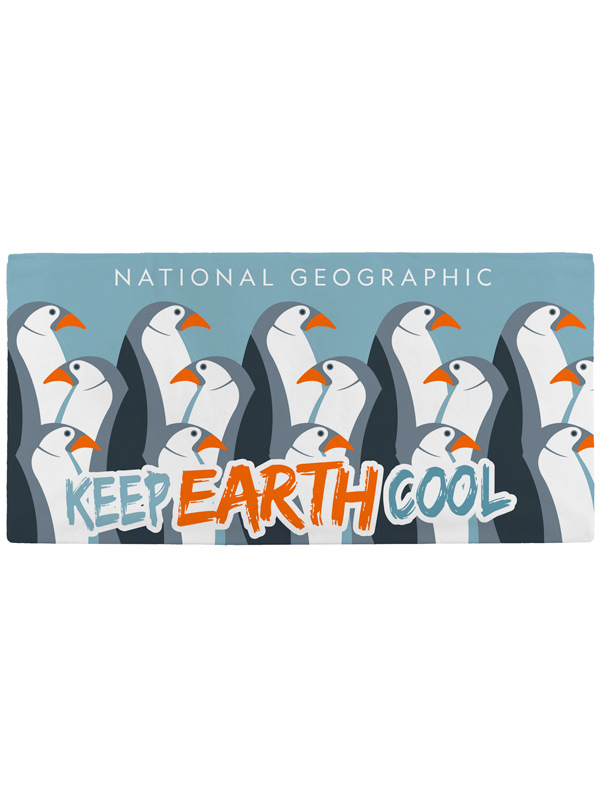 National Geographic Penguin Towel