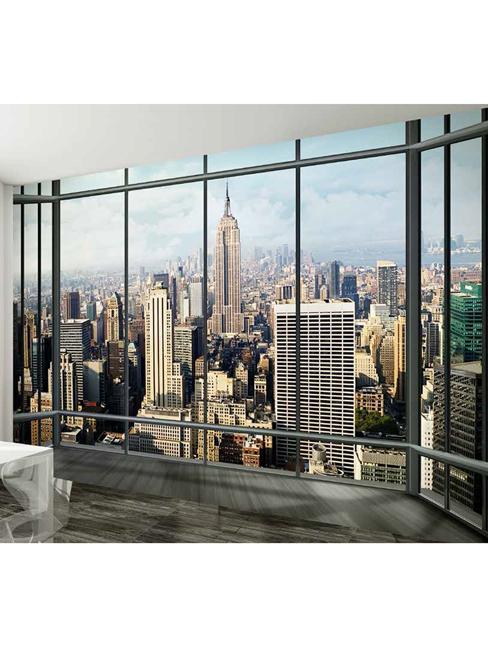 New York Empire State Wall Mural 232m x 315m