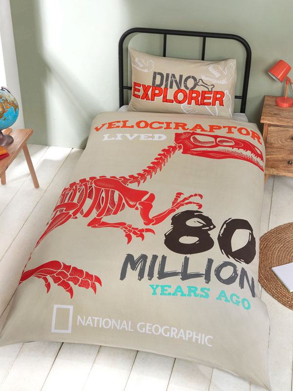 National Geographic Raptor Single Duvet Cover Set